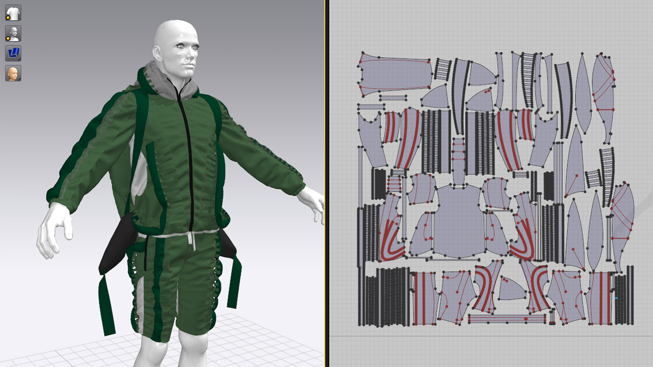 MERIDIAN Christopher Ræburn Marvelous Designer screen shot 1