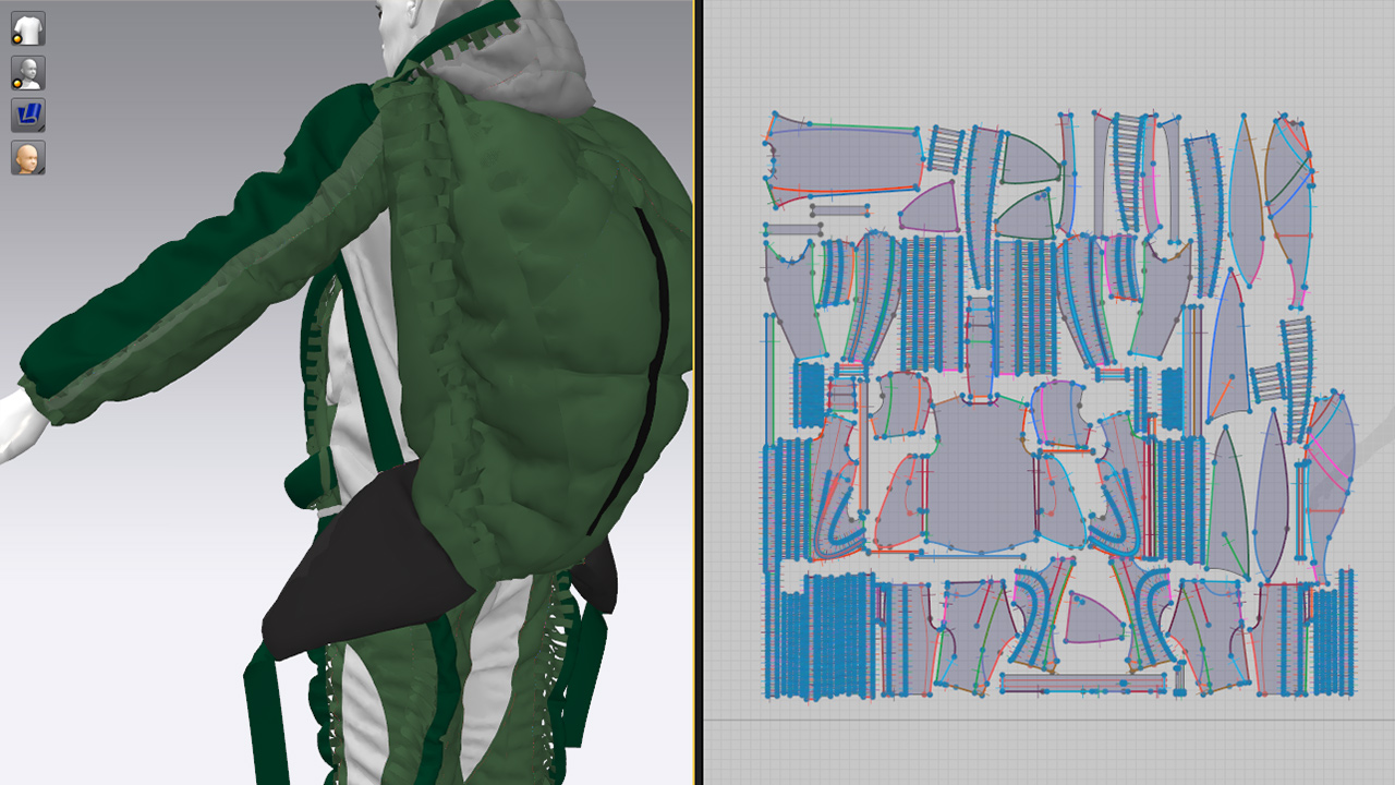 MERIDIAN Christopher Ræburn Marvelous Designer screen shot 2