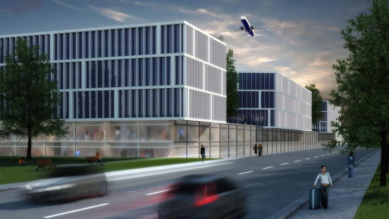 Pasucha Architekten: Shopping Mall in Frankfurt Hahn